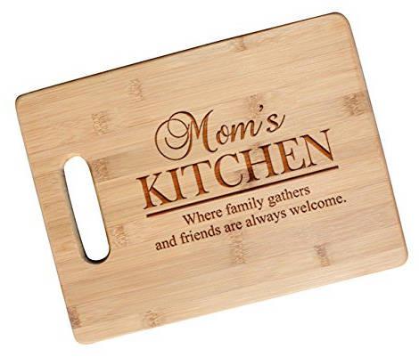 MOM Wood Cutting Board