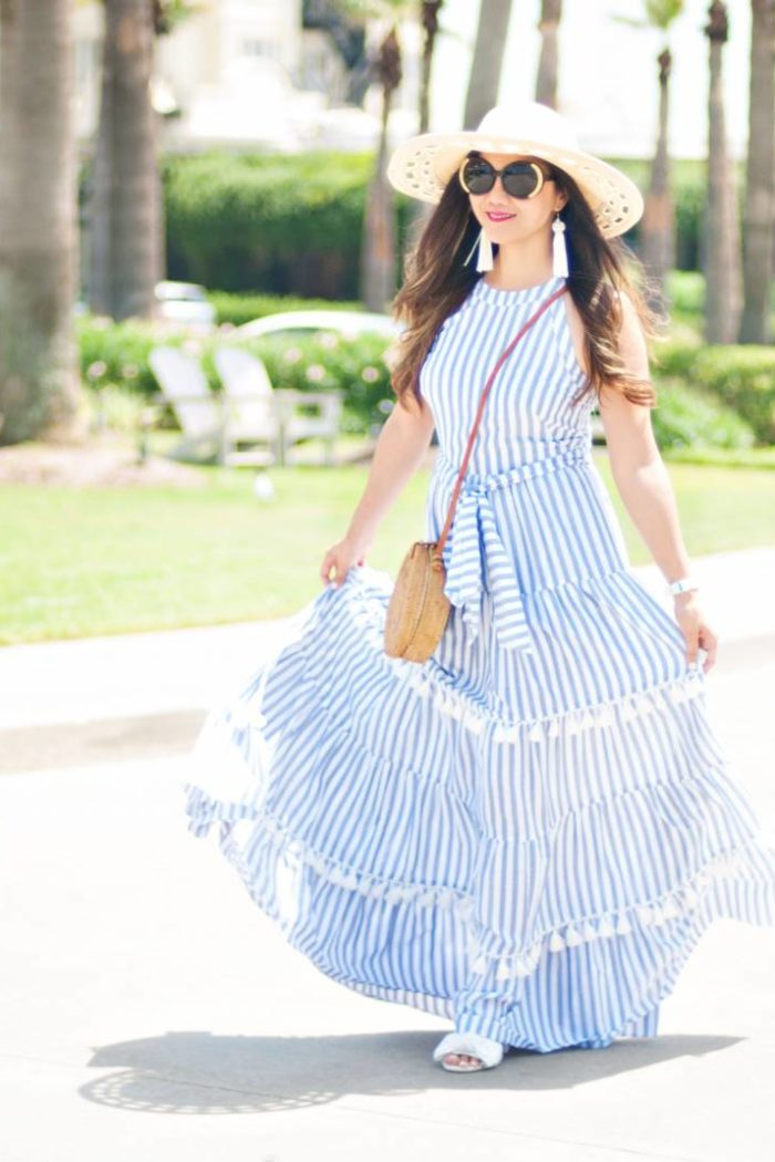 Why It's Important to Go on a Self-Discovery and Development Journey for Success and How + Tassel Maxi Dress to Live For