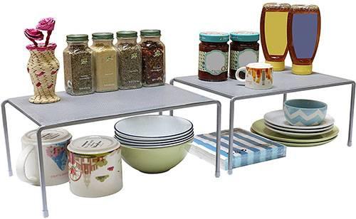 Expandable Cabinet Shelf