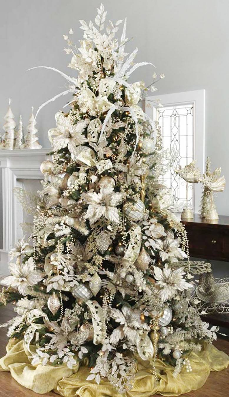 13 Amazingly Beautiful Christmas Tree Decorating Ideas Whatever Is