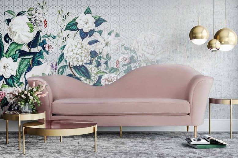Remarkable 21 Swoon Worthy Blush And Rose Gold Furniture And Home Decor Caraccident5 Cool Chair Designs And Ideas Caraccident5Info
