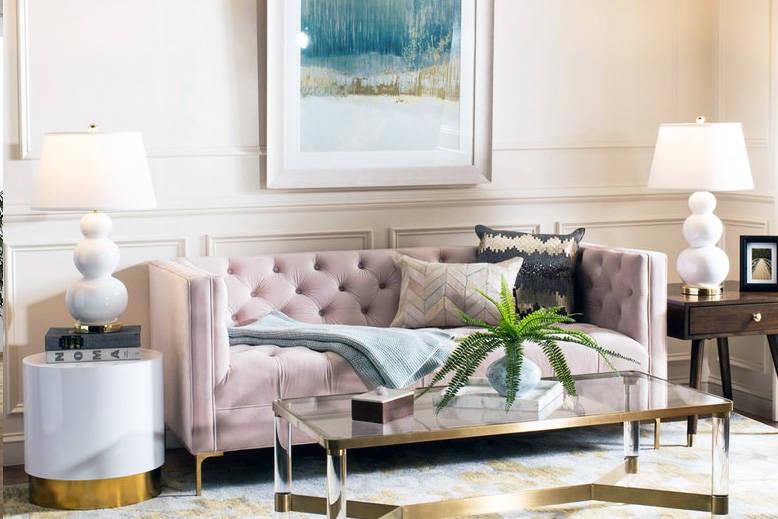 Blush Sofa