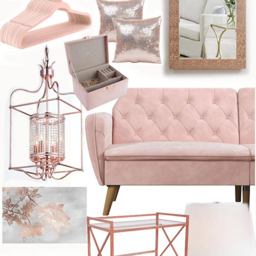 Blush and Rose Gold Furniture-featured