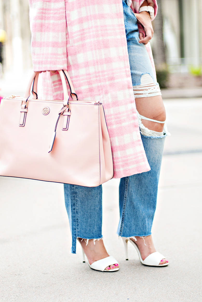Tory Burch Blush Handbag