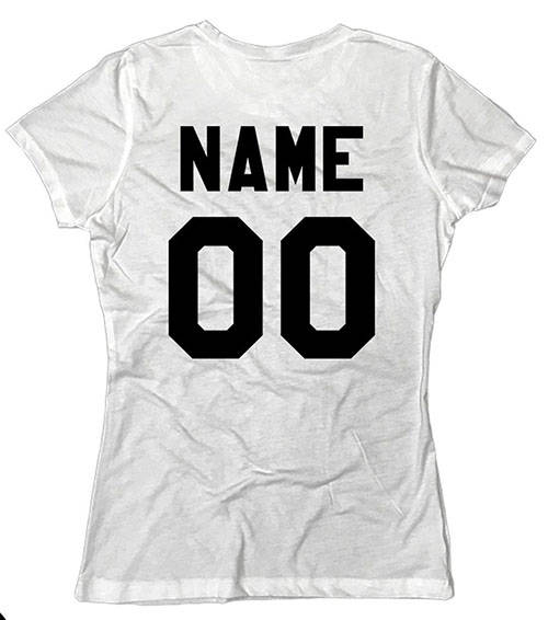 Custom Shirt With Name and Number
