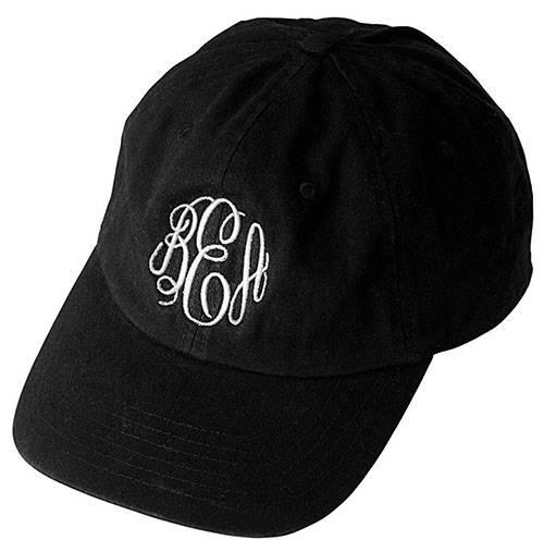 Monogrammed Hat