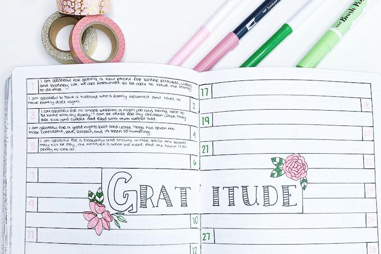 Bullet Journal Goals Ideas