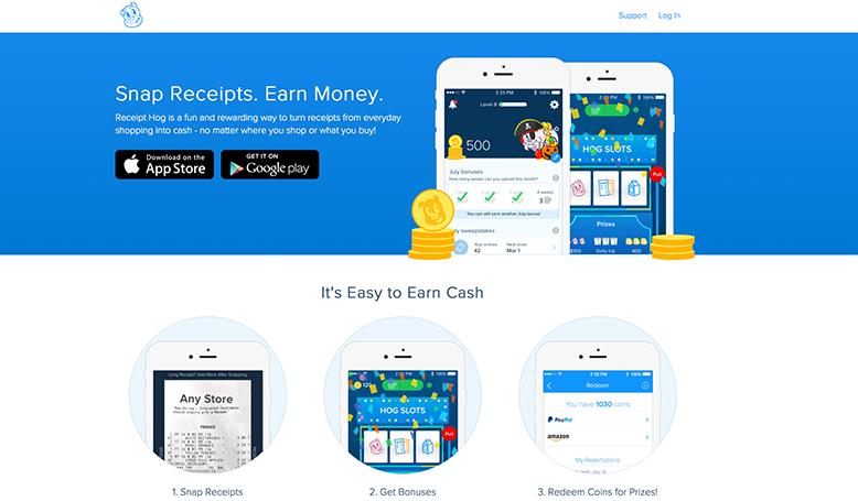 Receipt Hog Cash Back App