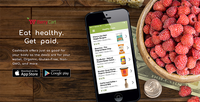 Berry Cart Cash Back App