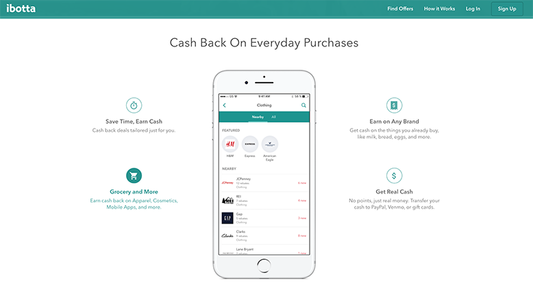 Ibotta Cash Back App