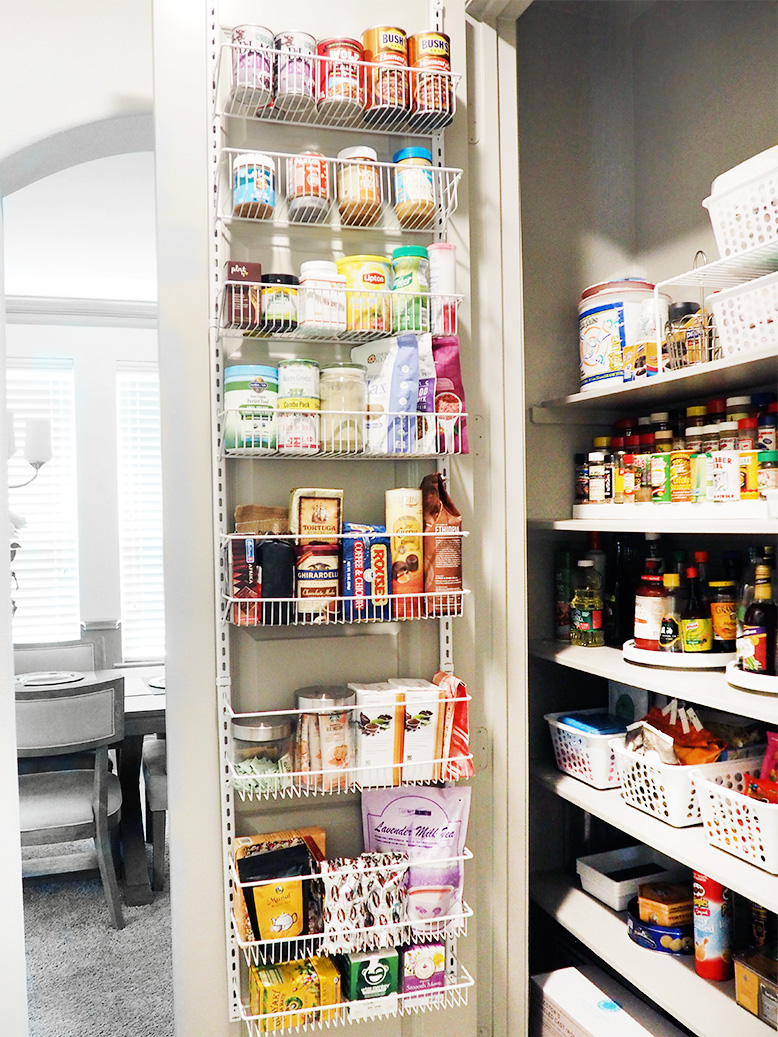 Over The Door Pantry Organizer