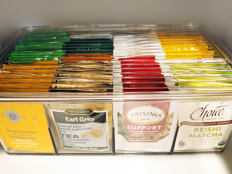 Tea Storage Organizer