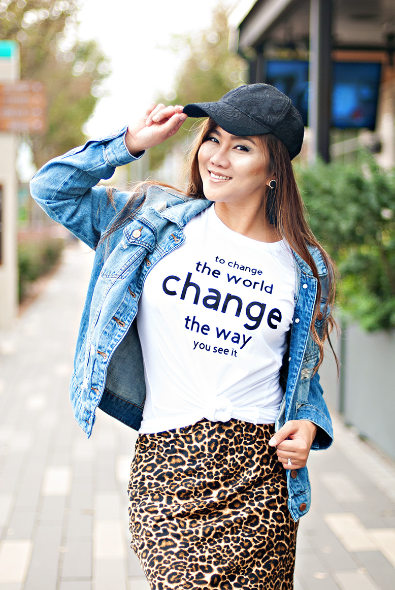 To Change the World, Change The Way You See It